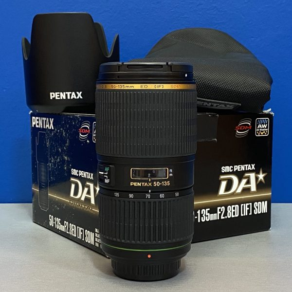 Pentax 50-135mm f/2.8 DA ED SDM (IF)